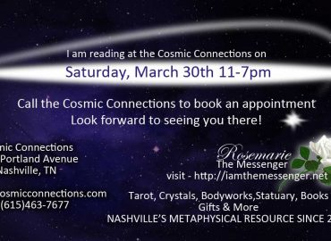 Readings cosmic connections